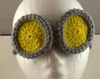 Bandeau lunettes crocheté - le scientifique (petit) (SWG-HH-GGSCIS01)