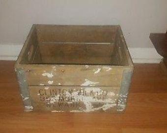 Clinton milk co crate