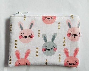 Bunny Coin Purse | Gift Card Holder | Business Card Holder