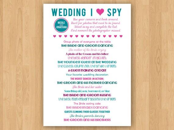 Diy printable wedding i spy maxwellsz