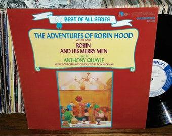 The Adventures Of Robin Hood Volume 4 Vintage Vinyl Record
