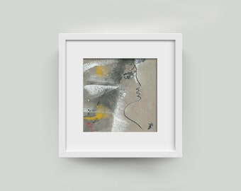 "Picture ""fleeing bride"" 10/10 cm (3,94/3,94 inch)"