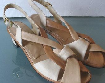 Vintage Naturalizer Mocha Sandals