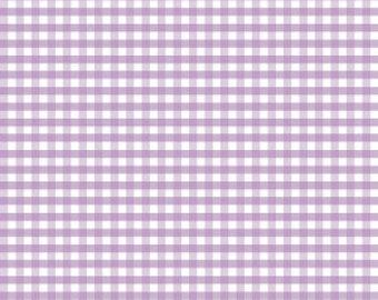 Riley Blake Designs, Medium Gingham in Lavender (C450 120)