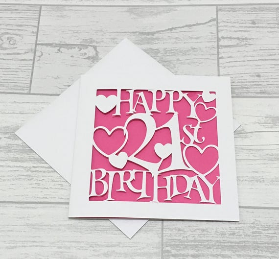 21st birthday card birthday card birthday boy personalised 21st birthday card birthday card birthday boy personalised card twenty first birthday happy 21st birthday 21st birthday papercut card bookmarktalkfo Image collections
