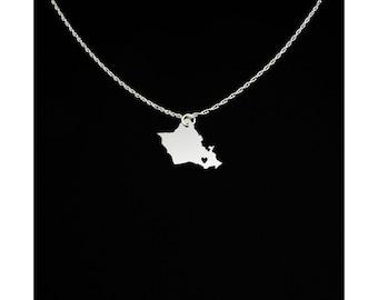 Oahu Necklace - Oahu Gift - Oahu Jewelry