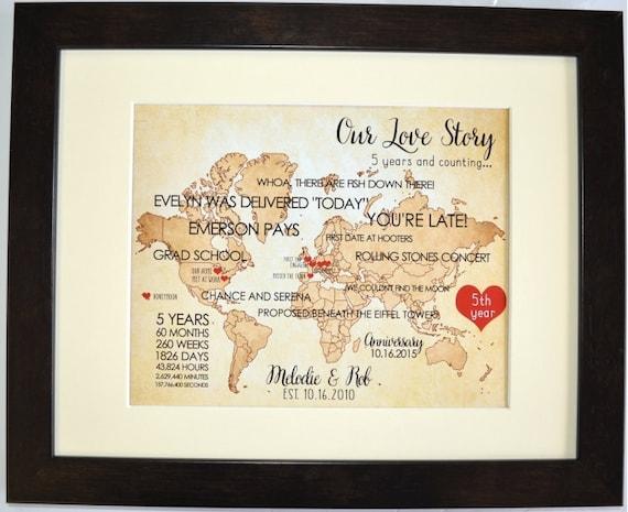 1st Wedding Anniversary Gifts Her: Custom 1st First Wedding Anniversary Gift For Husband Wife Him