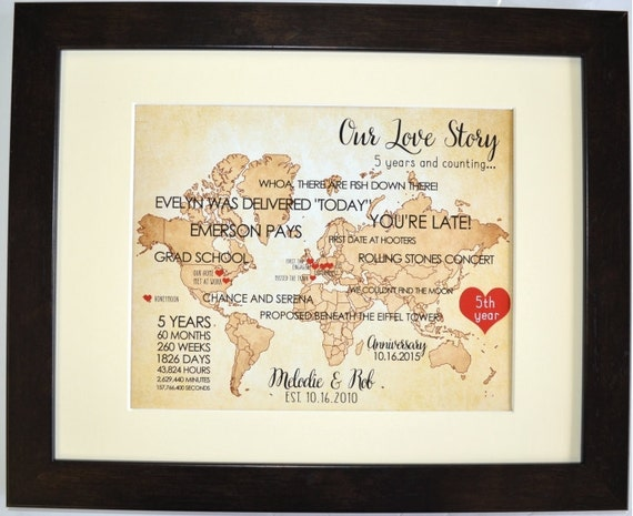 Gifts For Husband 25th Wedding Anniversary: Custom 1st First Wedding Anniversary Gift For Husband Wife Him
