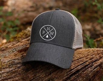 PNW circle hat