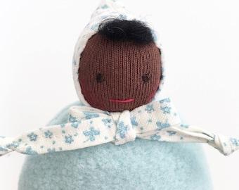 Waldorf Pocket Doll, Small Waldorf Doll, Waldorf Baby Doll, Waldorf Toys, Gift for Kids, Handmade Dolls, Handmade Toys