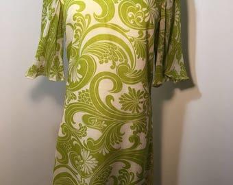 Psychedelic 1960's et Voila California Dress
