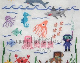 Under the Sea Cross Stitch Pattern