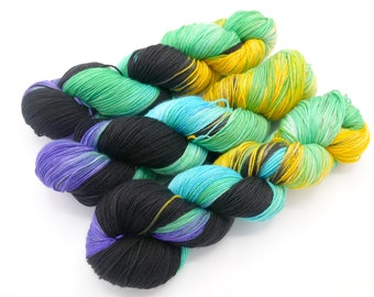 Carnival, Lovely Hand Dyed Sock Yarn - In Stock