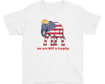 Wildlife Is NOT A Trophy Youth Short Sleeve T-Shirt