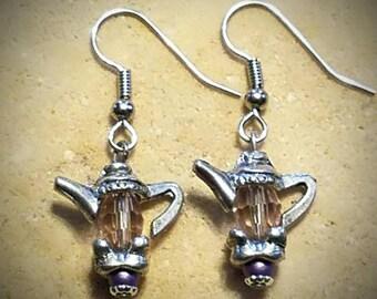 Teapot Earrings!