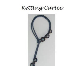 Beading Pattern Necklace Carice PDF (Dutch)