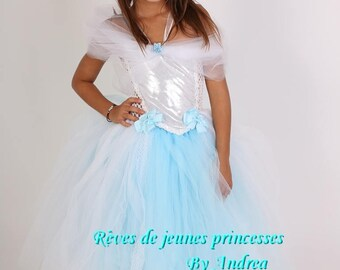 Princess Cinderella birthday gift, Christmas girl tutu dress
