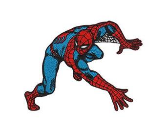 Spiderman Iron On Applique, Genuine Marvel Iron On Patch, Spiderman Patch, Spiderman Applique, Superhero Applique, Kids Patch
