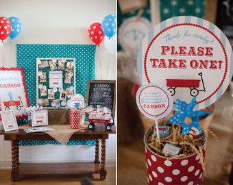 DIY, Red Wagon PARTY PACK