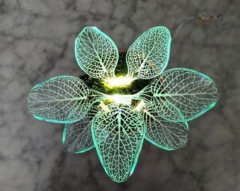 Angel Plant Lamp - Desk lamp - Led Light - White Planter - Modern Home Decor - Night Light - 3D Lamp -