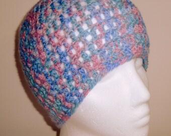 Pink Beanie Hat Pink Crocheted Beanie Hat Pink Wool Beanie Hat Blue Beanie Hat Blue Wool Beanie Hat Blue Woolen Hat