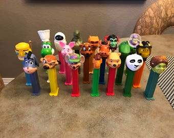 Vintage and Contemporary Mix of PEZ Dispensers - Great Variety!