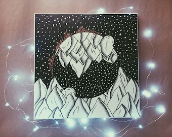 The Upside Down - Stranger Things Canvas!