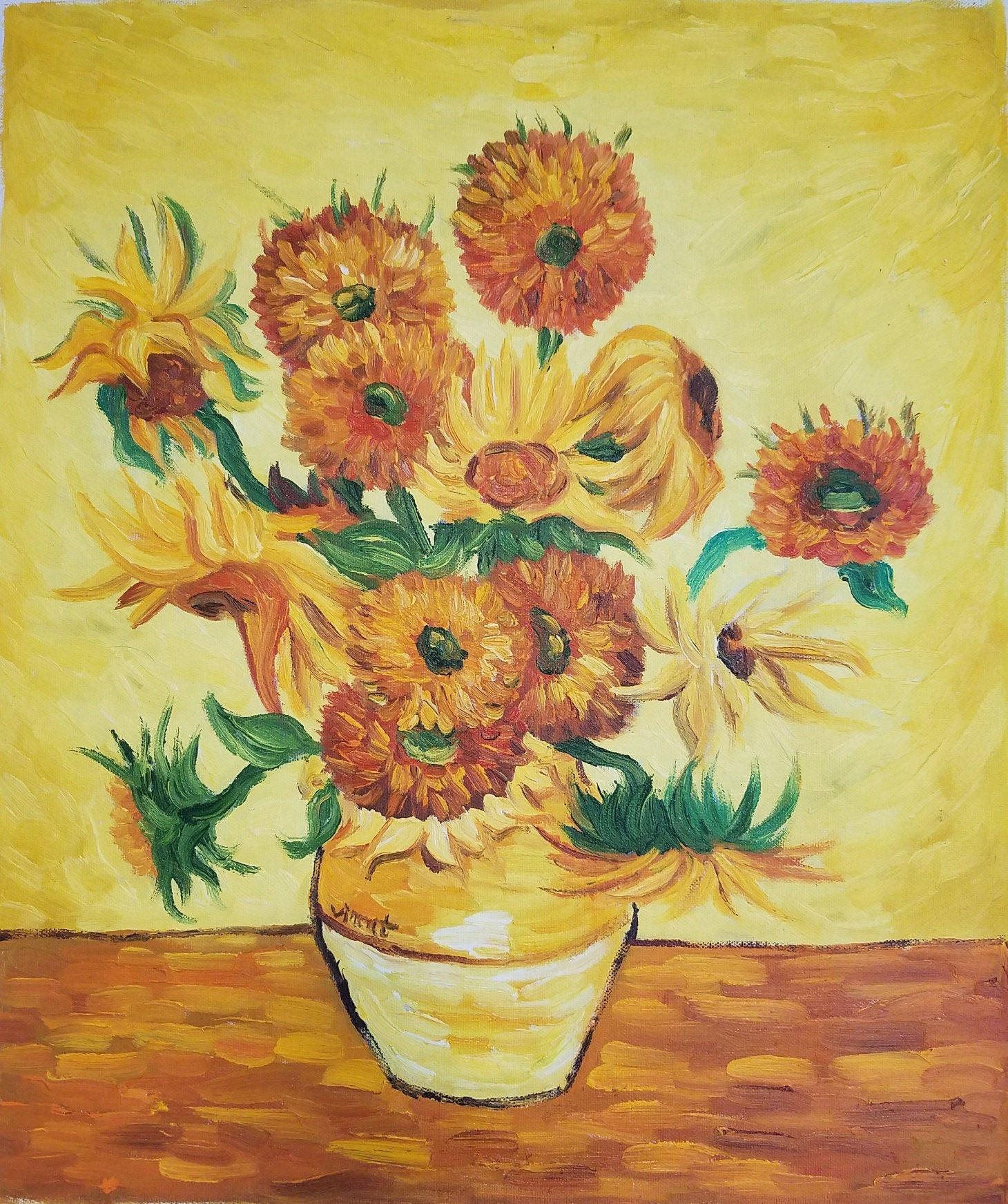 Oil Painting Wall Art Van Gogh Canvas Painting Sunflowers