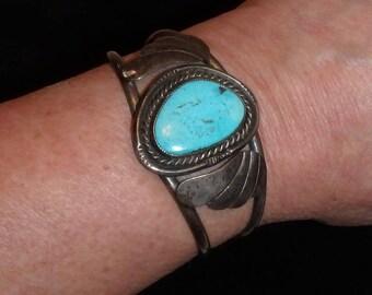 Southwestern Style Turquoise Bracelet