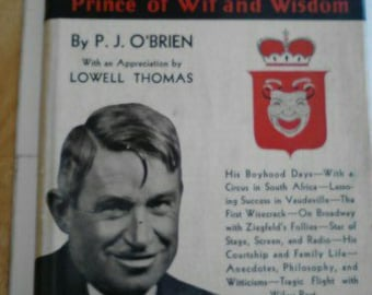 Vintage Book, Will Rogers- Ambassador of Good Will, Prince of Wit and Wisdom  ECS
