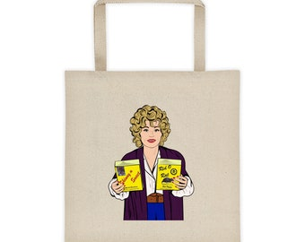 Dolly Parton 9 to 5 Canvas Tote bag