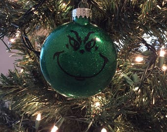 Grinch Christmas Ornament, Christmas Ornaments, Grinch, Ornaments