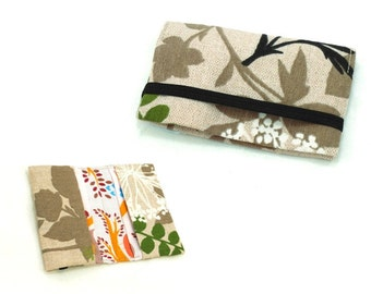 Business card holder, credit card case - PDF sewing pattern and instruction, sewing tutorial, instant download - w002