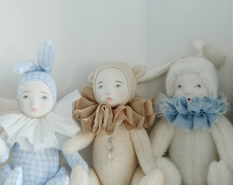 Moonsters Porcelain bunny doll