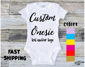 Custom onesies etsy custom baby negle Choice Image