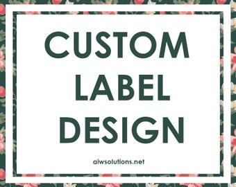 Custom label design,Scrubs & Bath Label, hang tag design, soap label design, sugar label design, perfume label design,  packaging design