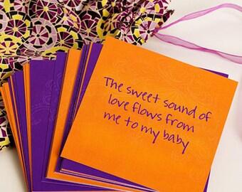 Affirmation Cards - Prenatal and postnatal yoga - gift for new mum