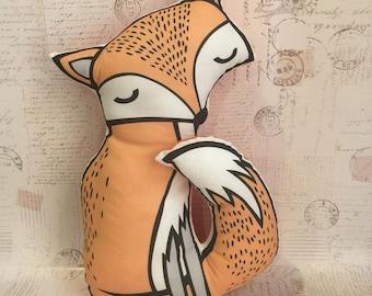 Fox pillow soft toy