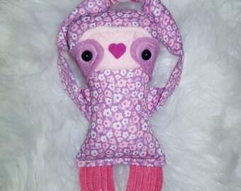 Itsy bitsy baby sloth doll