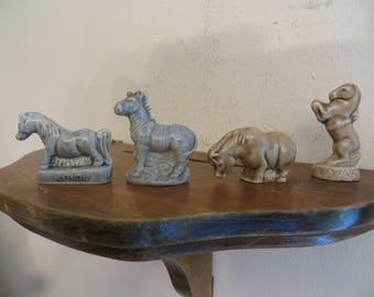Wade Horse Zebra figurines, England w/ free ship.