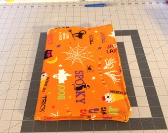 Halloween Fabric Covered Notebook