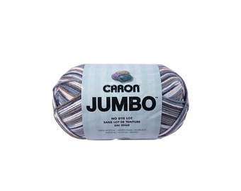 Country Basket Caron Jumbo Print Yarn