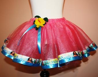 Moana Inspired Pink Tutu