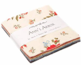 Ann's Arbor Charm Pack 14840PP  by Minick & Simpson for Moda