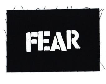 FEAR Punk Band Patch