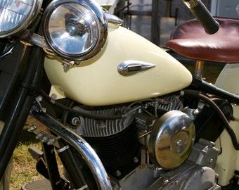 Vintage Indian Motorcycle print
