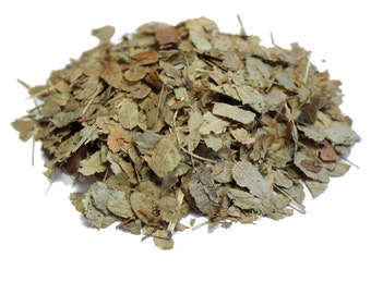 50 g Dried Organic Bilberry Leaves, (Vaccinium myrtillus/European blueberry)
