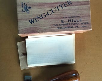 Hille's Wing-Cutter with box and instructions