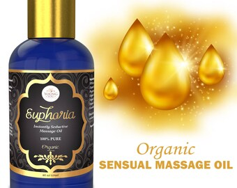 Sensual Massage Oil. Organic  Warming  Oil for Sensual Massage.
