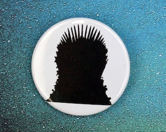 Iron Throne GoT Inspired Pin/Button, Magnet, or Keychain